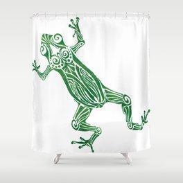 Frog-tastic Shower Curtain