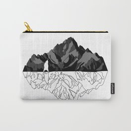 Mountains Bear Carry-All Pouch