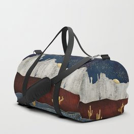 Moonlit Desert Duffle Bag