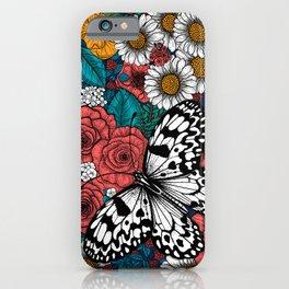 Paper kite garden iPhone Case
