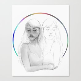 Emotional Calibration Canvas Print
