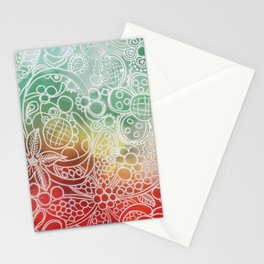 Christmas Bling Stationery Cards