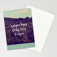 Somewhere Stationery Cards