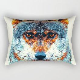 Wolf - Colorful Animals Rectangular Pillow