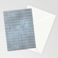 pattern (blue#1) Stationery Cards