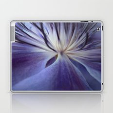 Clematis in Blue Mood Laptop & iPad Skin