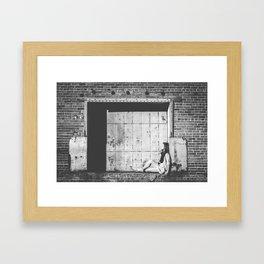 Sit Framed Art Print