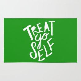 Treat Yo Self x Holiday Green Rug