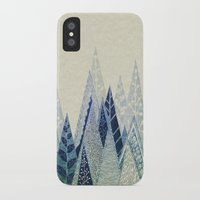 snow iPhone & iPod Cases featuring Snow Top by rskinner1122