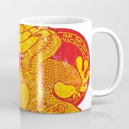 Rooster fire Coffee Mug