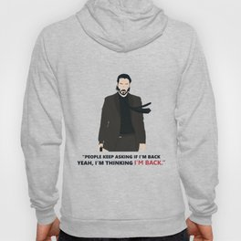 John Wick Keanu Reeves Movie Retro Action Film Hoody