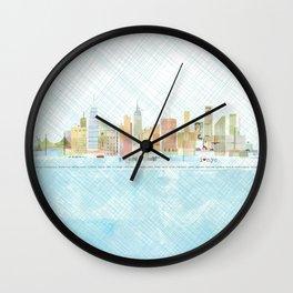 I love NYC Wall Clock