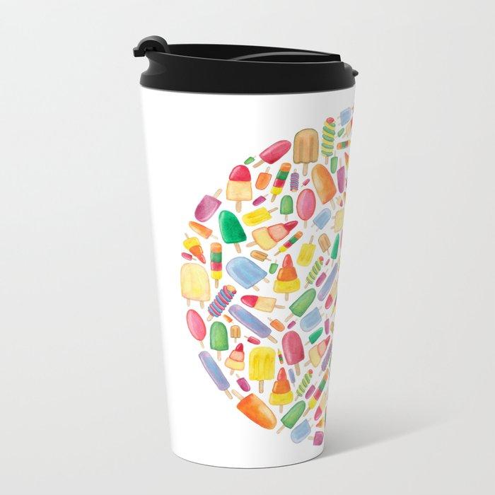 Ice Lolly.  Metal Travel Mug