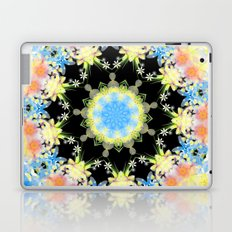 Kaleidoscope 'Twisted Flower' Laptop & iPad Skin