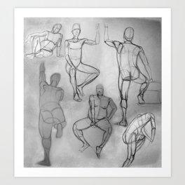 Human Study Art Print