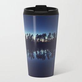 Silhouetted Pines Travel Mug
