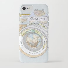TRAVEL CAN0N iPhone 7 Slim Case