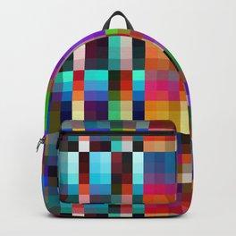 "Colorful Neon Geometric ""Nareni"" Backpack"