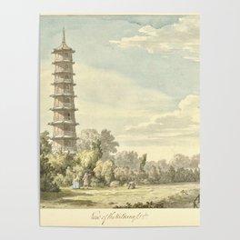 Pagoda at Kew Poster