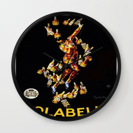 Vintage poster - Isolabella Wall Clock