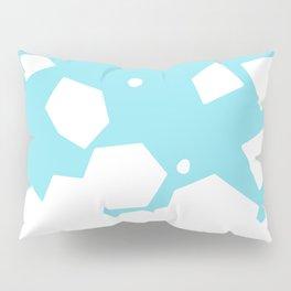 Rockery on Blue Pillow Sham