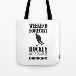 Weekend Forecast Tote Bag
