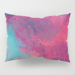 """""""And STILL I Persevere Through The Storms"""" Abstract Design Pillow Sham"""