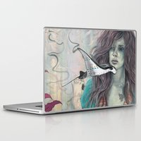 solid Laptop & iPad Skins featuring Solid Air by Mat Miller