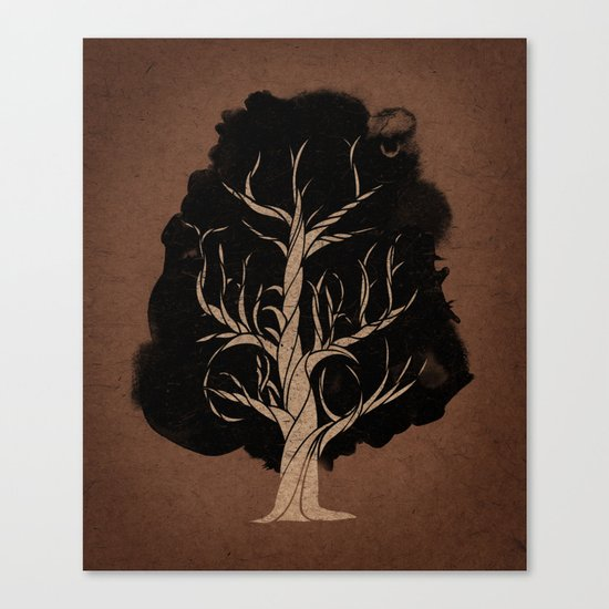Let The Tree Grow Canvas Print