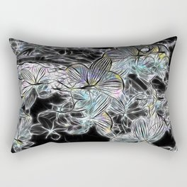 Blues for the Orchids Rectangular Pillow