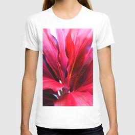 Red Ti Leaf T-shirt