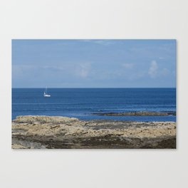 Boat on the Ocean Canvas Print