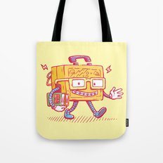 Back to School Lunchpail Bot Tote Bag