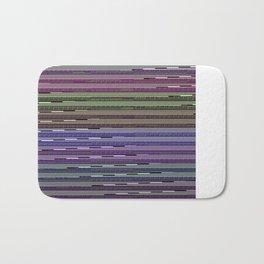 Static VIII [Rainbow Drinker] Bath Mat