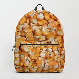corn cereals yellow background pattern Backpack