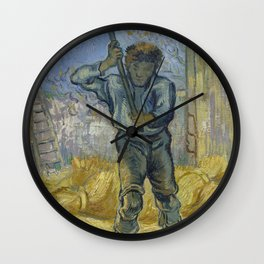 The Thresher (after Millet) Wall Clock