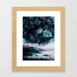 Atomic Boy Framed Art Print