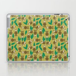 Jungle Sloth Laptop & iPad Skin