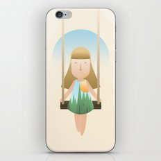 Vacation Game iPhone & iPod Skin
