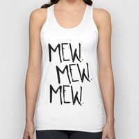 mew Tank Tops featuring Mew. by Jenna Settle