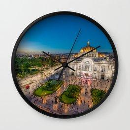 Bellas Artes 2 Wall Clock