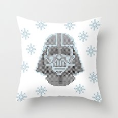 Merry Darth Vaderness   Throw Pillow