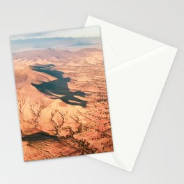 Vintage Mexican Mountain & Desert Landscape Stationery Cards