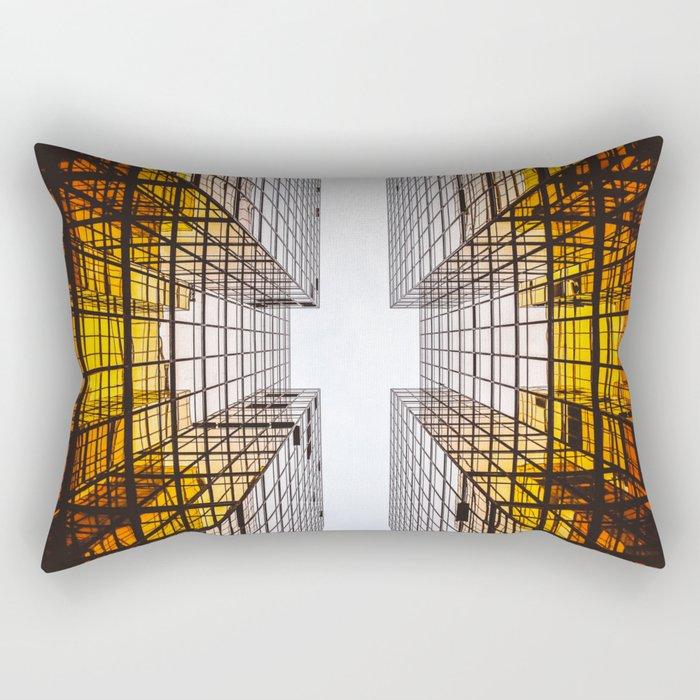 Emerging Skyscraper Rectangular Pillow