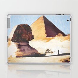 The Great Sphinx And Pyramid Laptop & iPad Skin