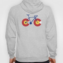 Colorado Flag Bicycle Hoody
