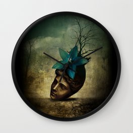 Winter dream Wall Clock