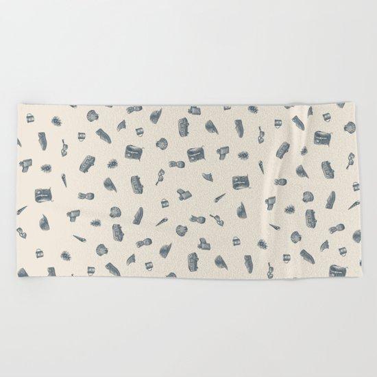 Sur la Plage Beach Towel