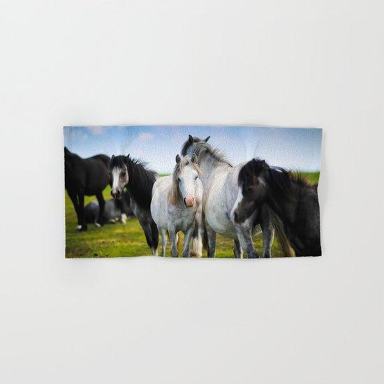 Horses Horses 4 Hand & Bath Towel
