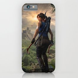 Tomb Raider iPhone Case